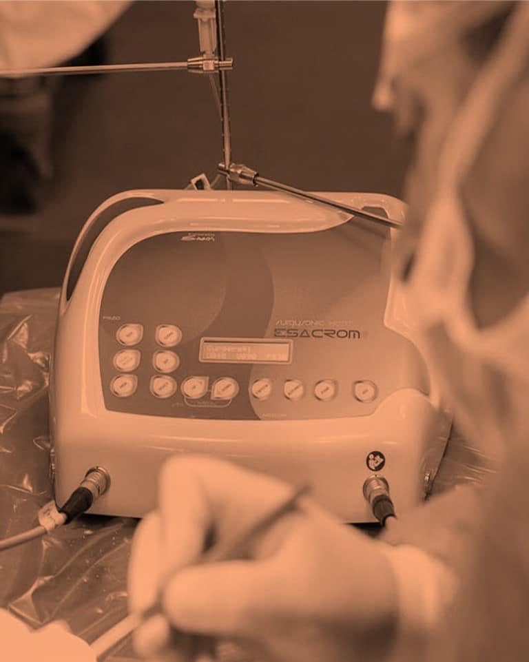 الجراحة الفكية بمساعدة البيزو Piezosurgery